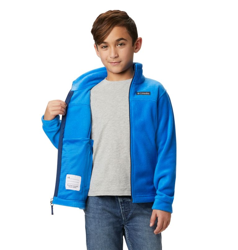 Steens Mt™ II Fleece | 438 | XL Boys' Steens Mountain™ II Fleece Jacket, Super Blue, a4