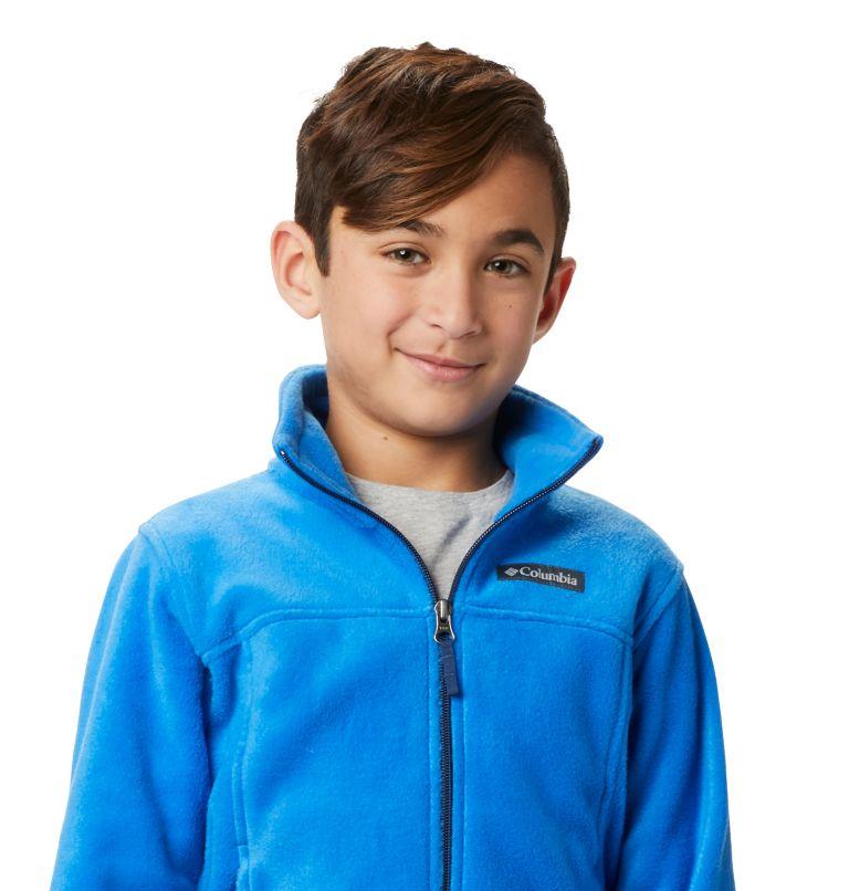 Steens Mt™ II Fleece | 438 | XS Boys' Steens Mountain™ II Fleece Jacket, Super Blue, a5
