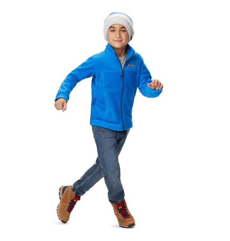 Steens Mt™ II Fleece | 438 | S Boys' Steens Mountain™ II Fleece Jacket, Super Blue, a7
