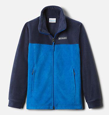 Boys' Steens Mountain™ II Fleece Jacket Steens Mt™ II Fleece | 030 | L, Bright Indigo, Collegiate Navy, front