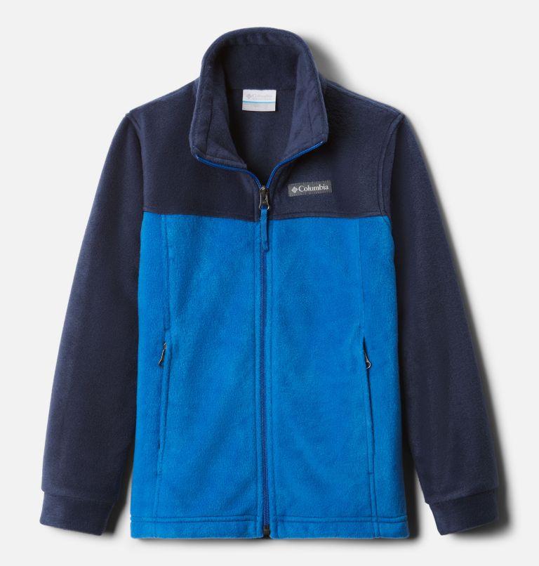Steens Mt™ II Fleece | 440 | L Boys' Steens Mountain™ II Fleece Jacket, Bright Indigo, Collegiate Navy, front