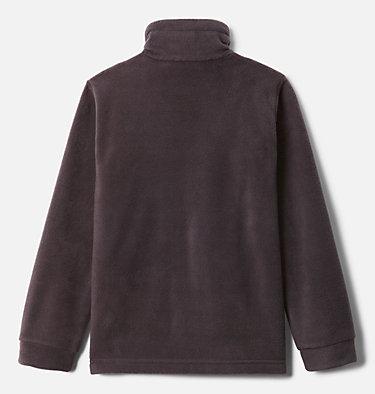 Boys' Steens Mountain™ II Fleece Jacket Steens Mt™ II Fleece | 030 | L, Dark Purple, Columbia Grey, back