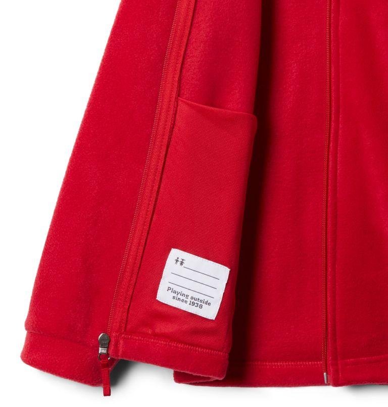Steens Mt™ II Fleece | 614 | M Boys' Steens Mountain™ II Fleece Jacket, Mountain Red, a2