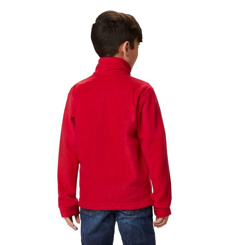 Steens Mt™ II Fleece | 614 | S Boys' Steens Mountain™ II Fleece Jacket, Mountain Red, a3