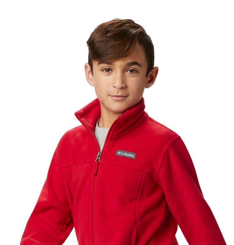 Steens Mt™ II Fleece | 614 | S Boys' Steens Mountain™ II Fleece Jacket, Mountain Red, a5