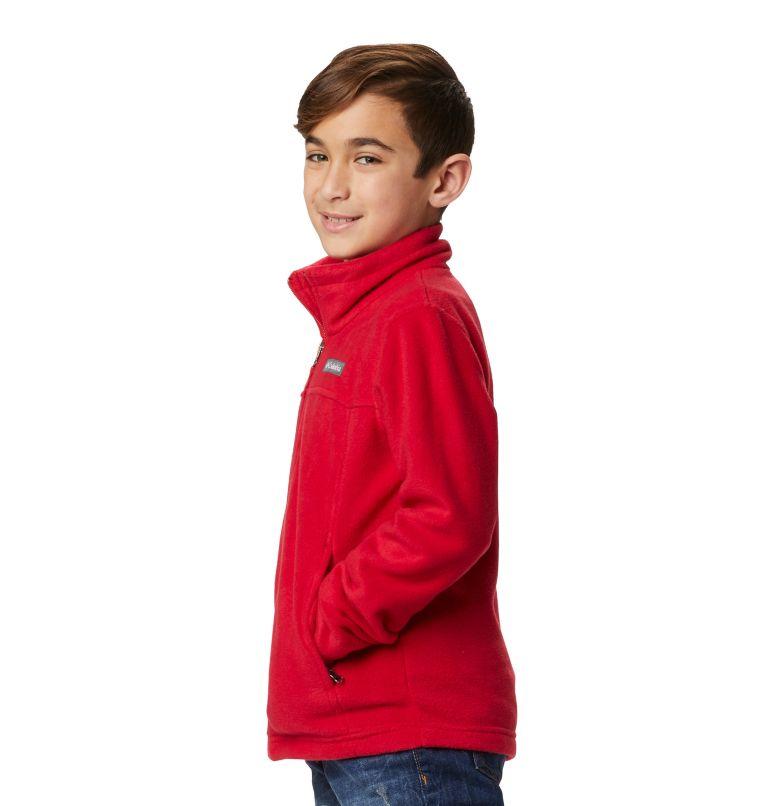 Steens Mt™ II Fleece | 614 | S Boys' Steens Mountain™ II Fleece Jacket, Mountain Red, a6