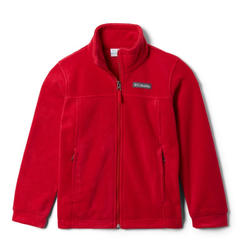 Steens Mt™ II Fleece | 614 | XL Boys' Steens Mountain™ II Fleece Jacket, Mountain Red, back