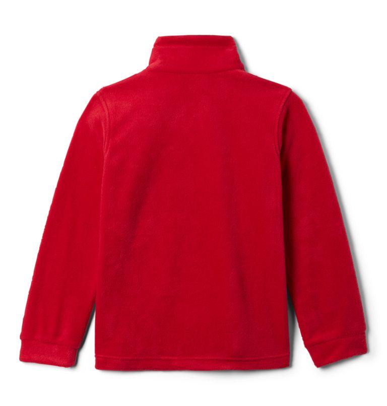 Steens Mt™ II Fleece | 614 | S Boys' Steens Mountain™ II Fleece Jacket, Mountain Red, back