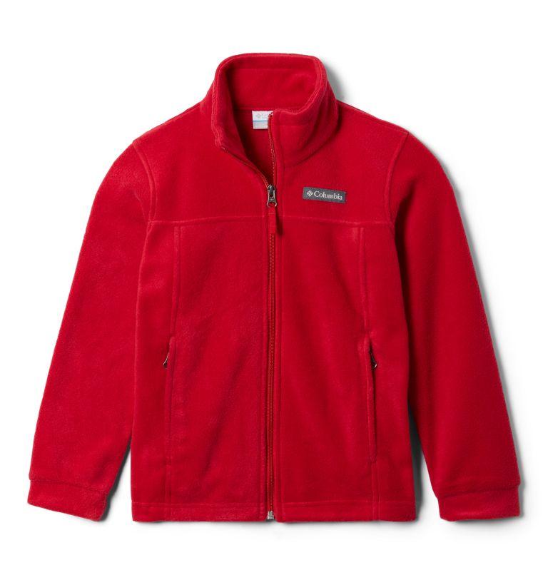 Steens Mt™ II Fleece   614   XL Boys' Steens Mountain™ II Fleece Jacket, Mountain Red, front