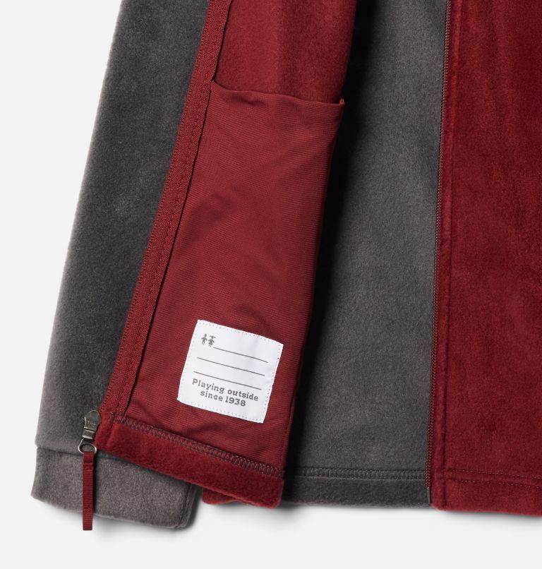 Steens Mt™ II Fleece | 664 | M Boys' Steens Mountain™ II Fleece Jacket, Red Jasper, Shark, a1