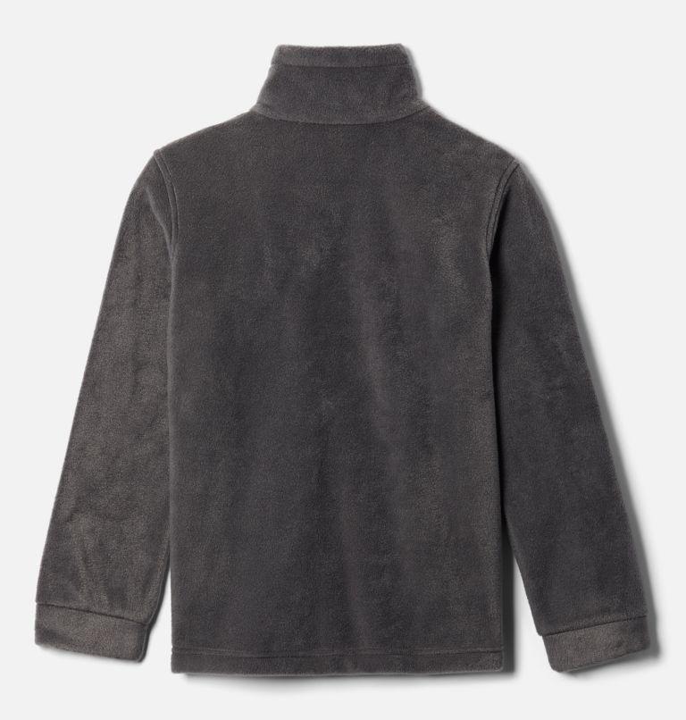 Steens Mt™ II Fleece | 664 | M Boys' Steens Mountain™ II Fleece Jacket, Red Jasper, Shark, back