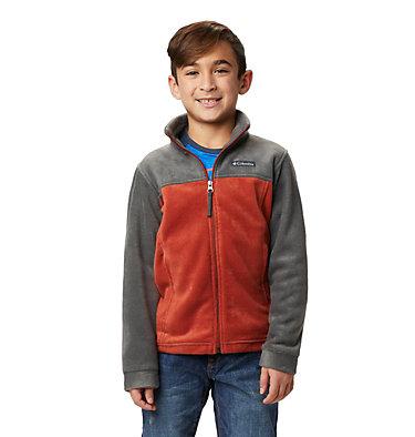 Boys' Steens Mountain™ II Fleece Jacket Steens Mt™ II Fleece | 030 | L, Carnelian Red, Grill, front