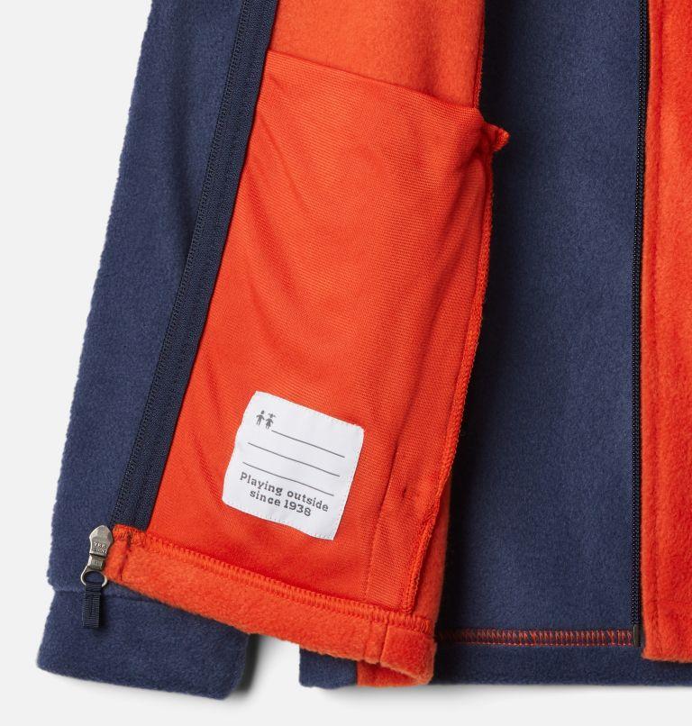 Steens Mt™ II Fleece | 849 | XXS Boys' Steens Mountain™ II Fleece Jacket, Bonfire, Collegiate Navy, a1