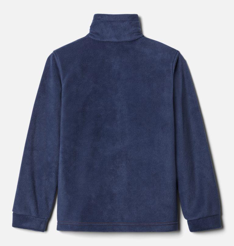 Steens Mt™ II Fleece | 849 | XXS Boys' Steens Mountain™ II Fleece Jacket, Bonfire, Collegiate Navy, back