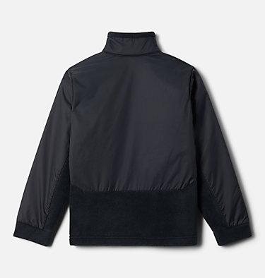 Boys' Steens Mountain™ Overlay Fleece Jacket Steens Mt™ Overlay | 010 | M, Black, back