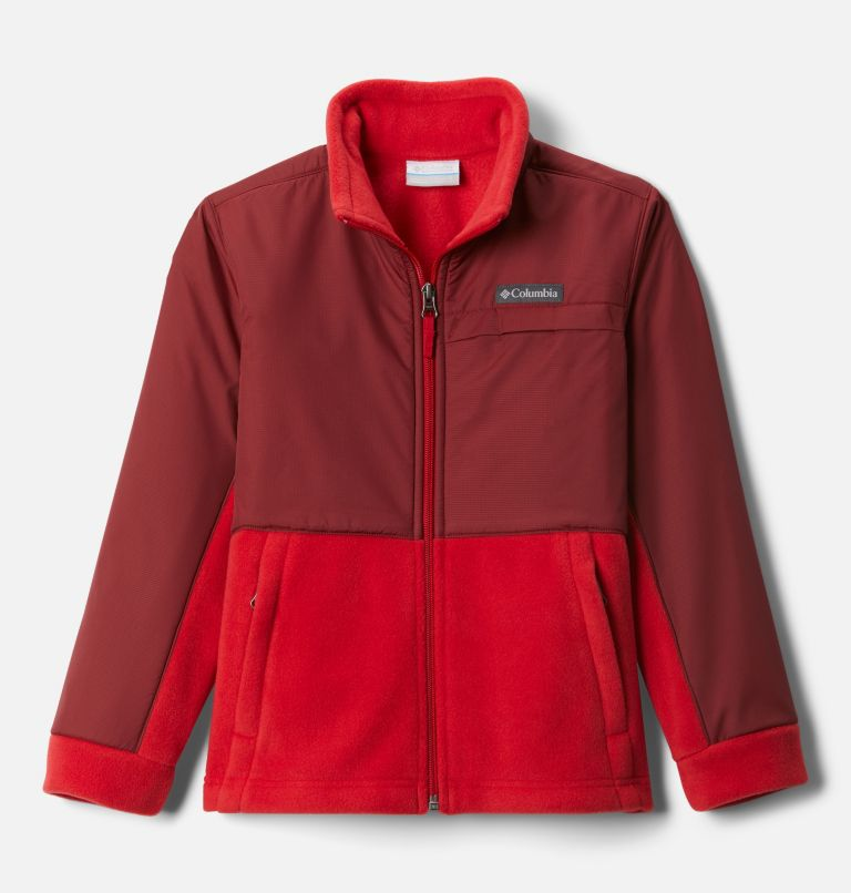 Boys' Steens Mountain™ Overlay Fleece Jacket Boys' Steens Mountain™ Overlay Fleece Jacket, front