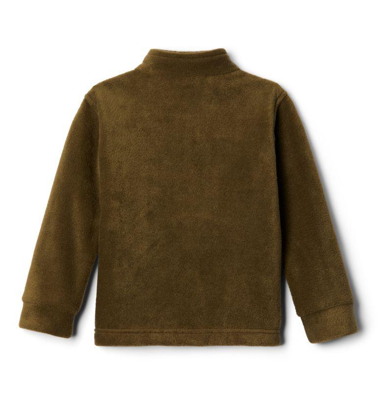 Steens Mt™ II Fleece | 009 | 2T Boys' Toddler Steens Mountain™ II Fleece Jacket, Black, New Olive, back