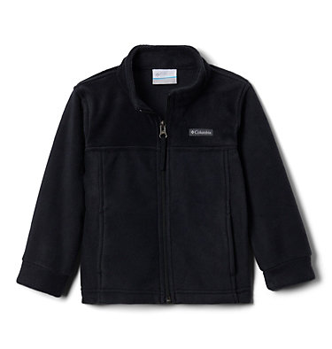 Boys' Toddler Steens Mountain™ II Fleece Jacket Steens Mt™ II Fleece | 440 | 2T, Black, 3/4 front