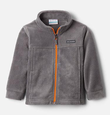 Boys' Toddler Steens Mountain™ II Fleece Jacket Steens Mt™ II Fleece | 440 | 2T, City Grey, Flame Orange, front