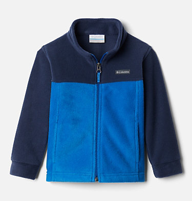 Boys' Toddler Steens Mountain™ II Fleece Jacket Steens Mt™ II Fleece | 440 | 2T, Bright Indigo, Collegiate Navy, front