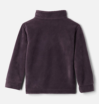 Boys' Toddler Steens Mountain™ II Fleece Jacket Steens Mt™ II Fleece | 440 | 2T, Dark Purple, Columbia Grey, back