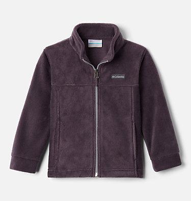 Boys' Toddler Steens Mountain™ II Fleece Jacket Steens Mt™ II Fleece | 440 | 2T, Dark Purple, Columbia Grey, front