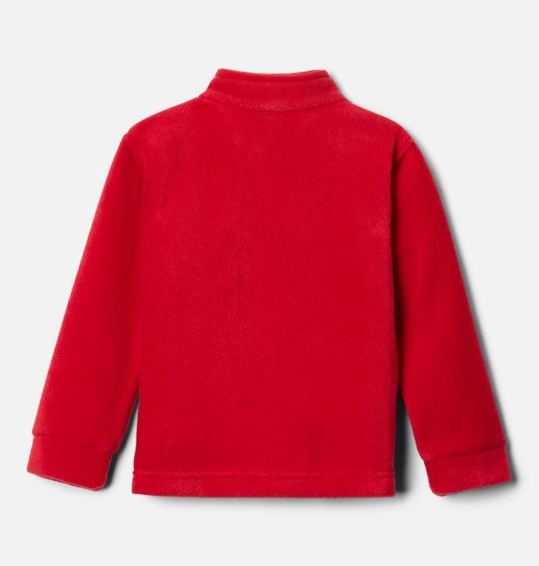 Steens Mt™ II Fleece | 614 | 2T Boys' Toddler Steens Mountain™ II Fleece Jacket, Mountain Red, back