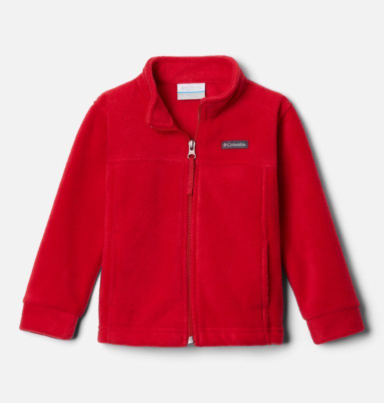 Steens Mt™ II Fleece | 614 | 2T Boys' Toddler Steens Mountain™ II Fleece Jacket, Mountain Red, front