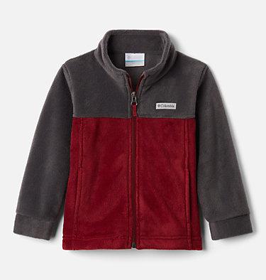 Boys' Toddler Steens Mountain™ II Fleece Jacket Steens Mt™ II Fleece | 440 | 2T, Red Jasper, Shark, front