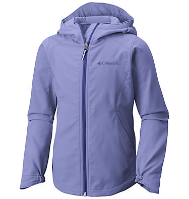 Girls' Splash Flash™ II Hooded Softshell Jacket , front