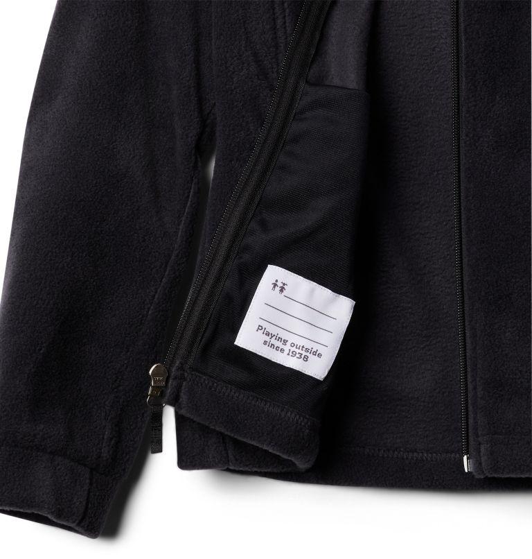 Benton Springs™ Fleece   010   S Girls' Benton Springs™ Fleece Jacket, Black, a1