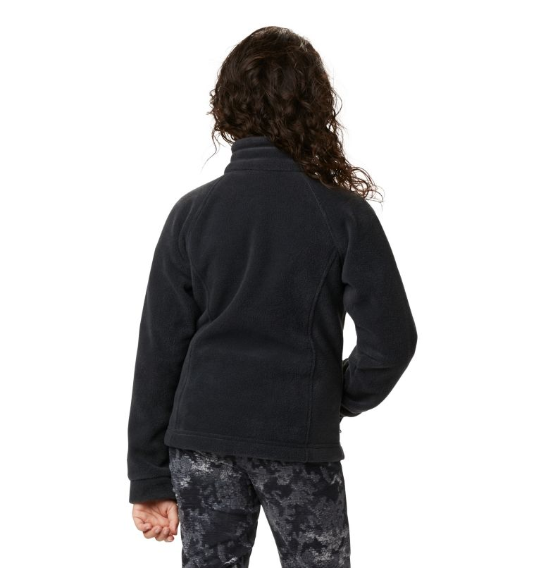 Benton Springs™ Fleece | 010 | L Girls' Benton Springs™ Fleece Jacket, Black, a2