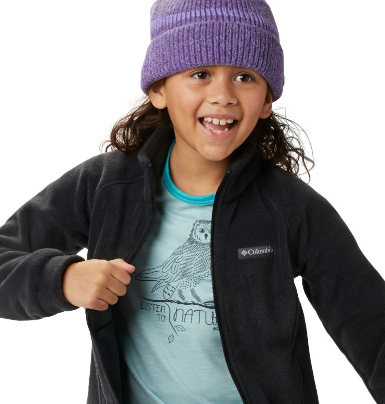 Benton Springs™ Fleece | 010 | L Girls' Benton Springs™ Fleece Jacket, Black, a4