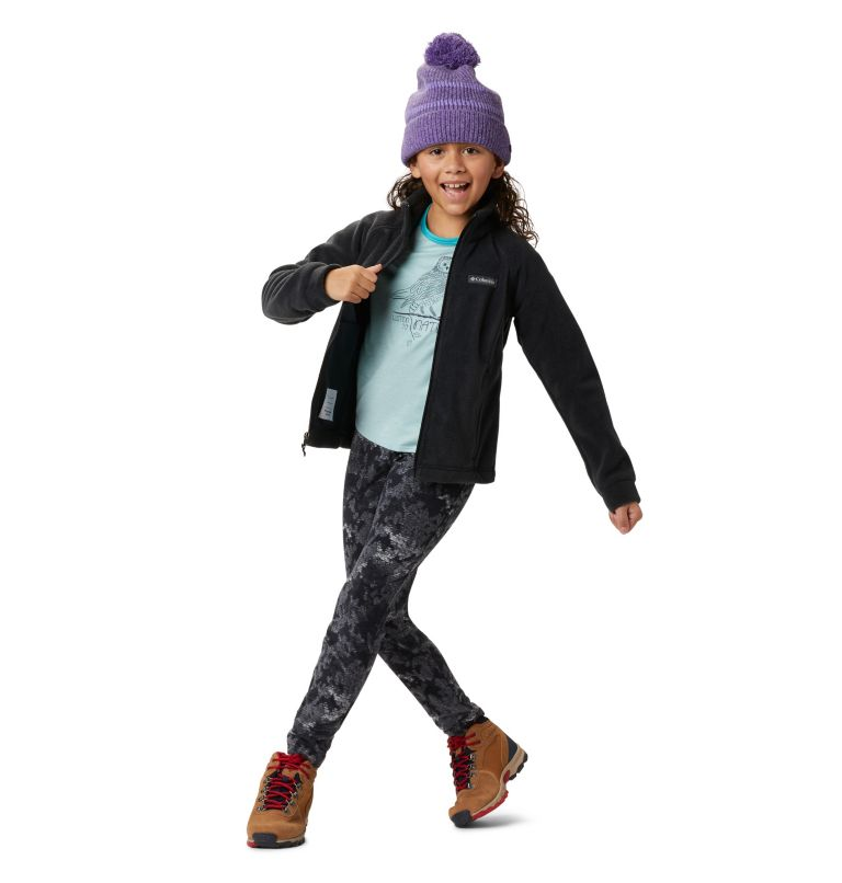 Benton Springs™ Fleece | 010 | L Girls' Benton Springs™ Fleece Jacket, Black, a5