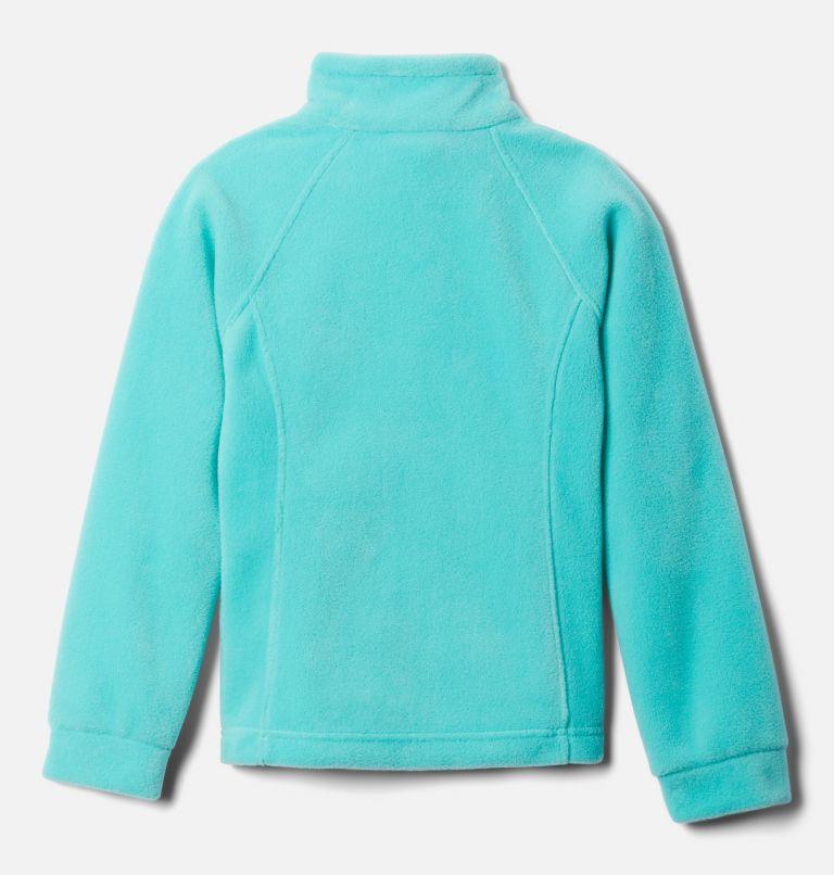Benton Springs™ Fleece | 356 | M Girls' Benton Springs™ Fleece Jacket, Dolphin, Sea Ice, back