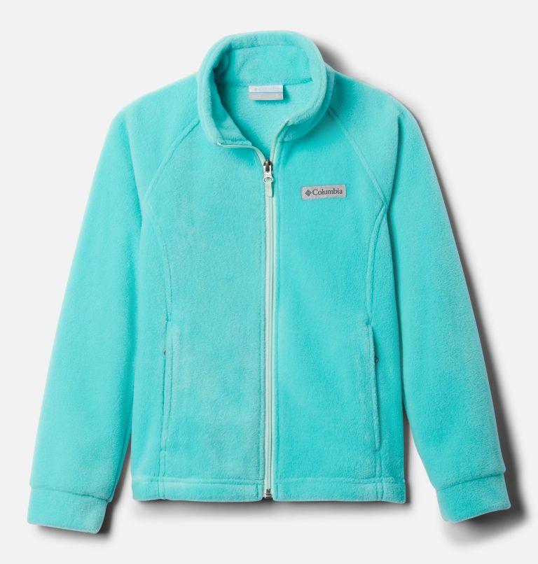 Benton Springs™ Fleece | 356 | M Girls' Benton Springs™ Fleece Jacket, Dolphin, Sea Ice, front