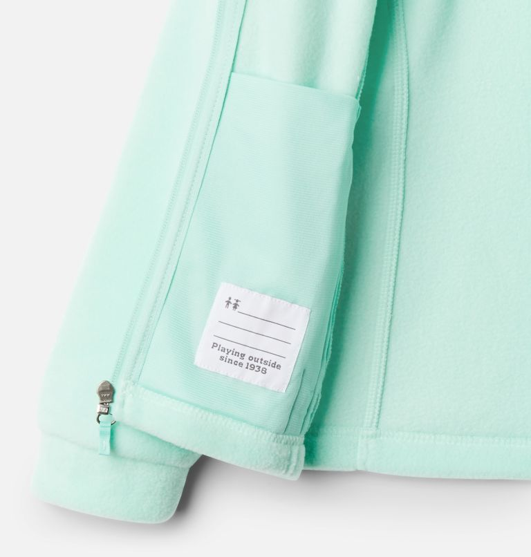 Benton Springs™ Fleece | 367 | XXS Girls' Benton Springs™ Fleece Jacket, Mint Cay, a1