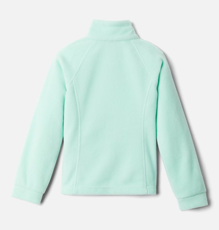 Benton Springs™ Fleece | 367 | XXS Girls' Benton Springs™ Fleece Jacket, Mint Cay, back
