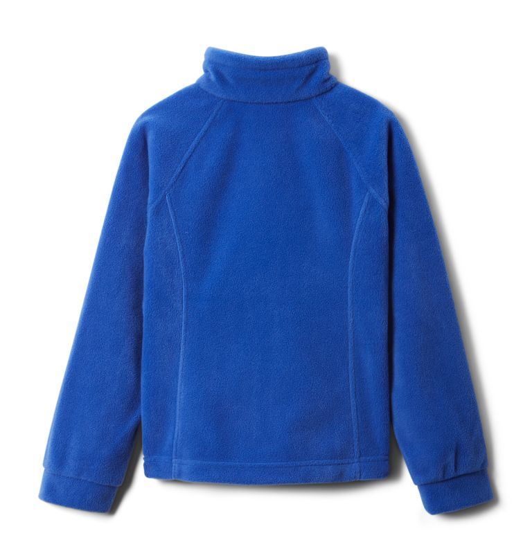 Benton Springs™ Fleece | 410 | L Girls' Benton Springs™ Fleece Jacket, Lapis Blue, back