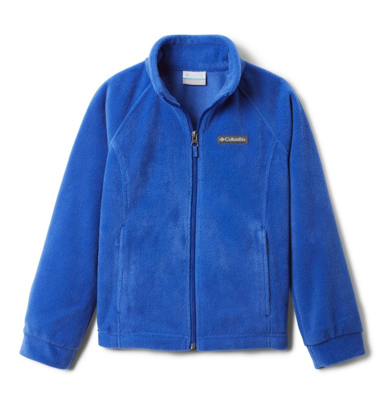 Benton Springs™ Fleece | 410 | L Girls' Benton Springs™ Fleece Jacket, Lapis Blue, front