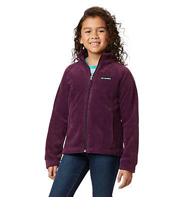 Girls' Benton Springs™ Fleece Jacket Benton Springs™ Fleece   667   XL, Purple Dahlia, front