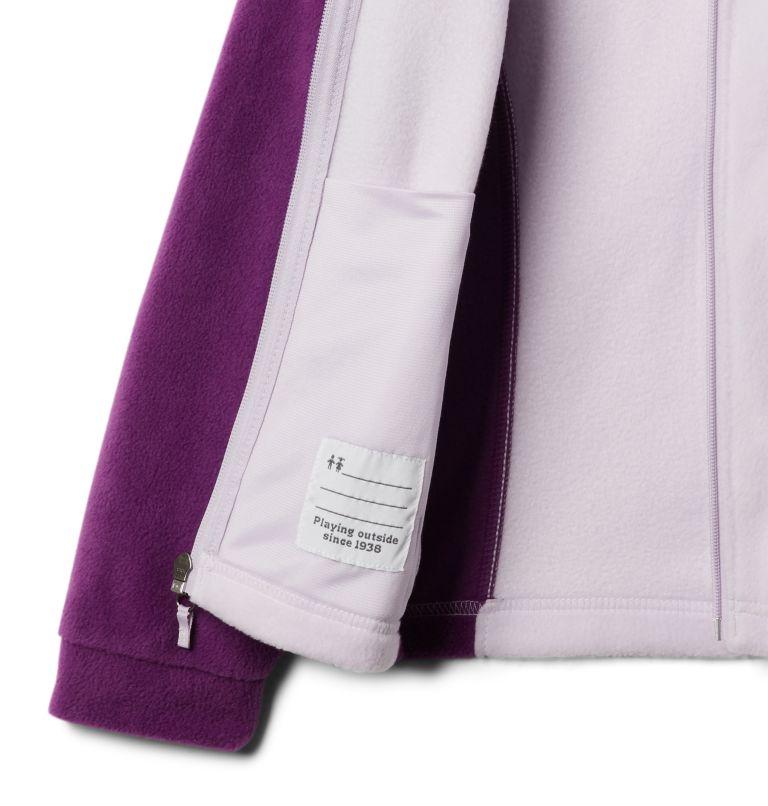 Benton Springs™ Fleece | 575 | XS Girls' Benton Springs™ Fleece Jacket, Plum, Pale Lilac, a1