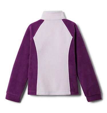 Girls' Benton Springs™ Fleece Jacket Benton Springs™ Fleece   667   XL, Plum, Pale Lilac, back