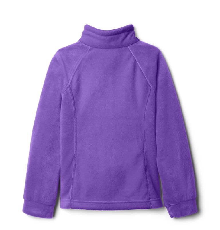 Benton Springs™ Fleece | 576 | S Girls' Benton Springs™ Fleece Jacket, Grape Gum, a1