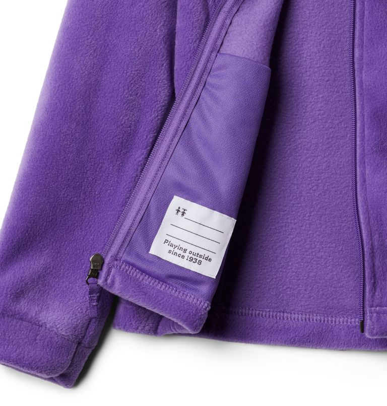 Benton Springs™ Fleece | 576 | XL Girls' Benton Springs™ Fleece Jacket, Grape Gum, a2