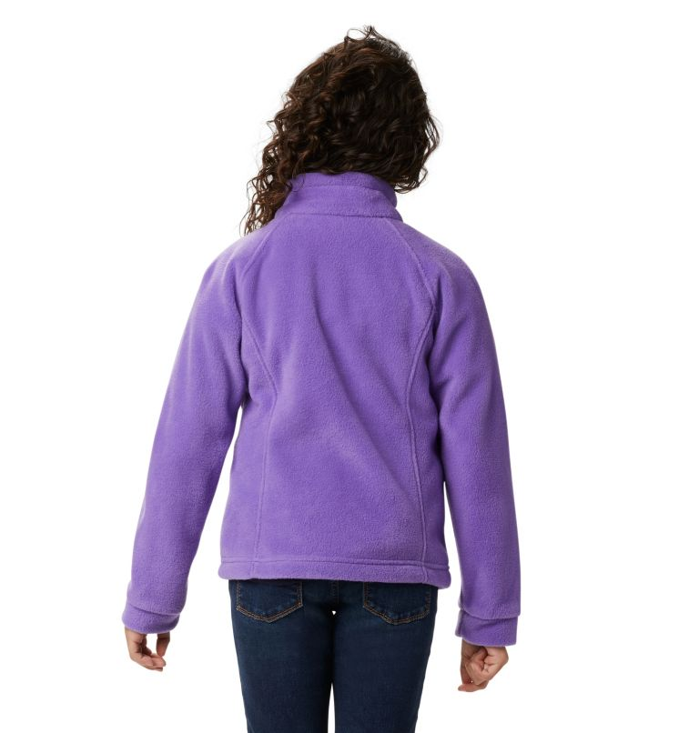 Benton Springs™ Fleece | 576 | S Girls' Benton Springs™ Fleece Jacket, Grape Gum, a3