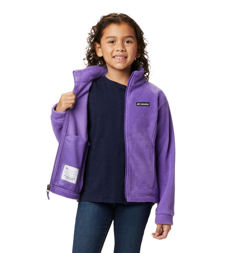 Benton Springs™ Fleece | 576 | XL Girls' Benton Springs™ Fleece Jacket, Grape Gum, a4