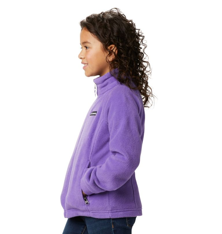 Benton Springs™ Fleece | 576 | S Girls' Benton Springs™ Fleece Jacket, Grape Gum, a5