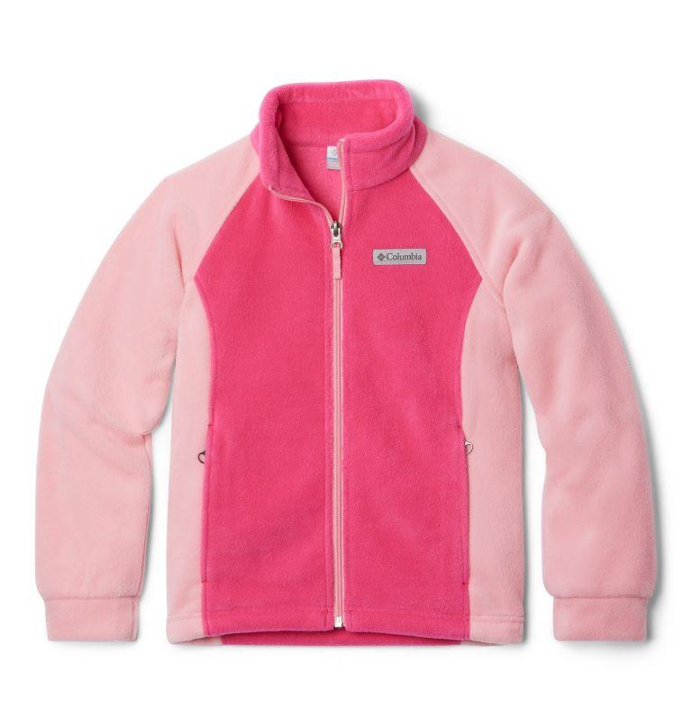 Benton Springs™ Fleece | 613 | L Girls' Benton Springs™ Fleece Jacket, Cactus Pink, Pink Orchid, front