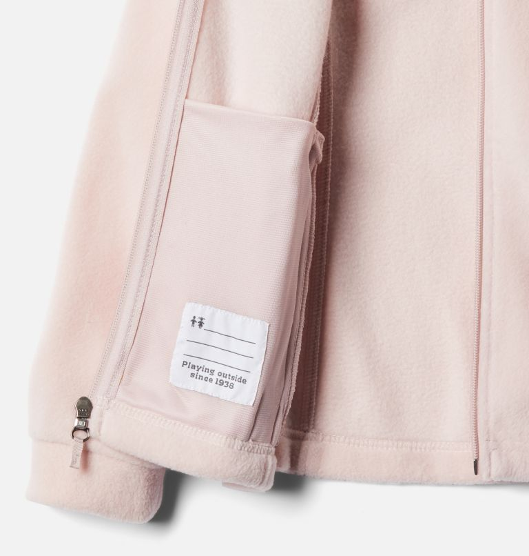 Benton Springs™ Fleece | 618 | XS Girls' Benton Springs™ Fleece Jacket, Mineral Pink, a1